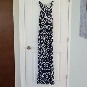 Anthropologie Maeve sz XS Scrollwork Maxi Dress